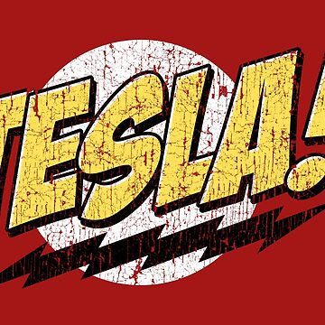 Tesla! (Distressed) by DWS-Store