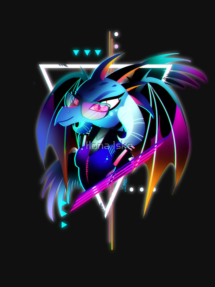 Synthwave Dragon Lord Ember | Classic T-Shirt