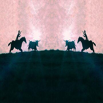Ride`em Cowboy by JohnDSmith