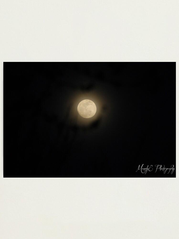 Alternate view of Moon Haze Photographic Print