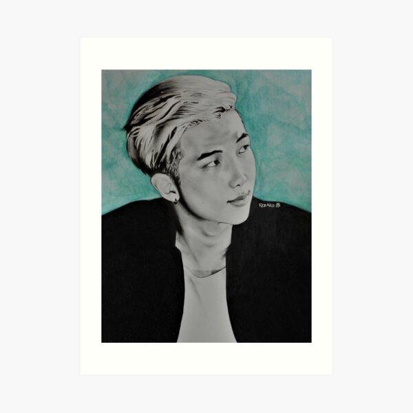 BTS - RM Fanart Art Print