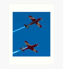 Remember that scene from Top Gun?........... Art Print