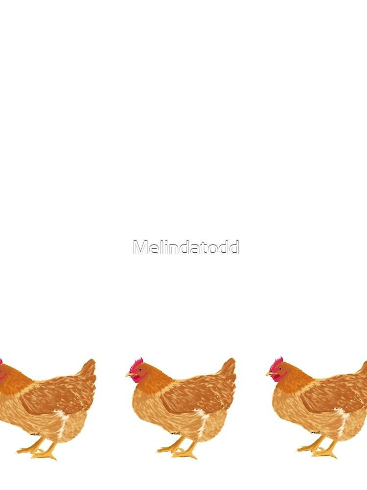 Happy Golden Hen by Melindatodd