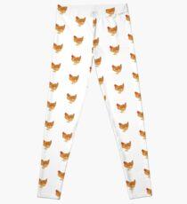 Happy Golden Hen Leggings