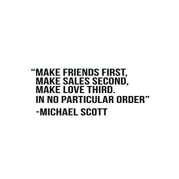 Cita de Michael Scott de adjsr
