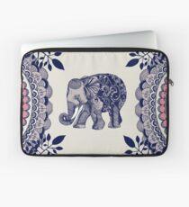 Pretty Pink Elephant  Laptop Sleeve