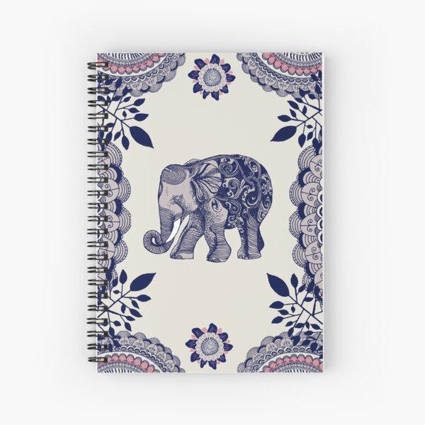 Pretty Pink Elephant  Spiral Notebook