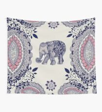 Pretty Pink Elephant  Wall Tapestry