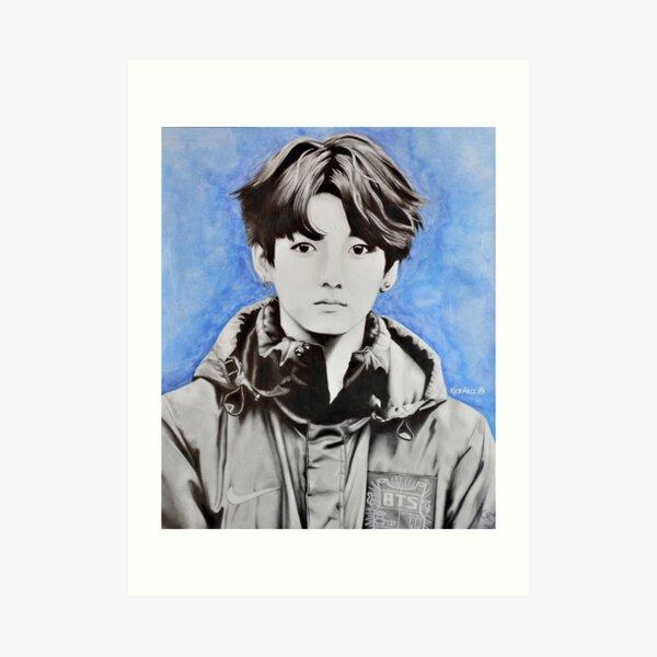 BTS - Jungkook Fanart Art Print