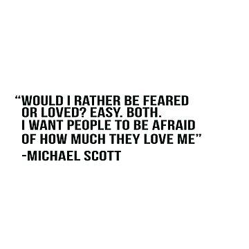 Michael Scott de adjsr