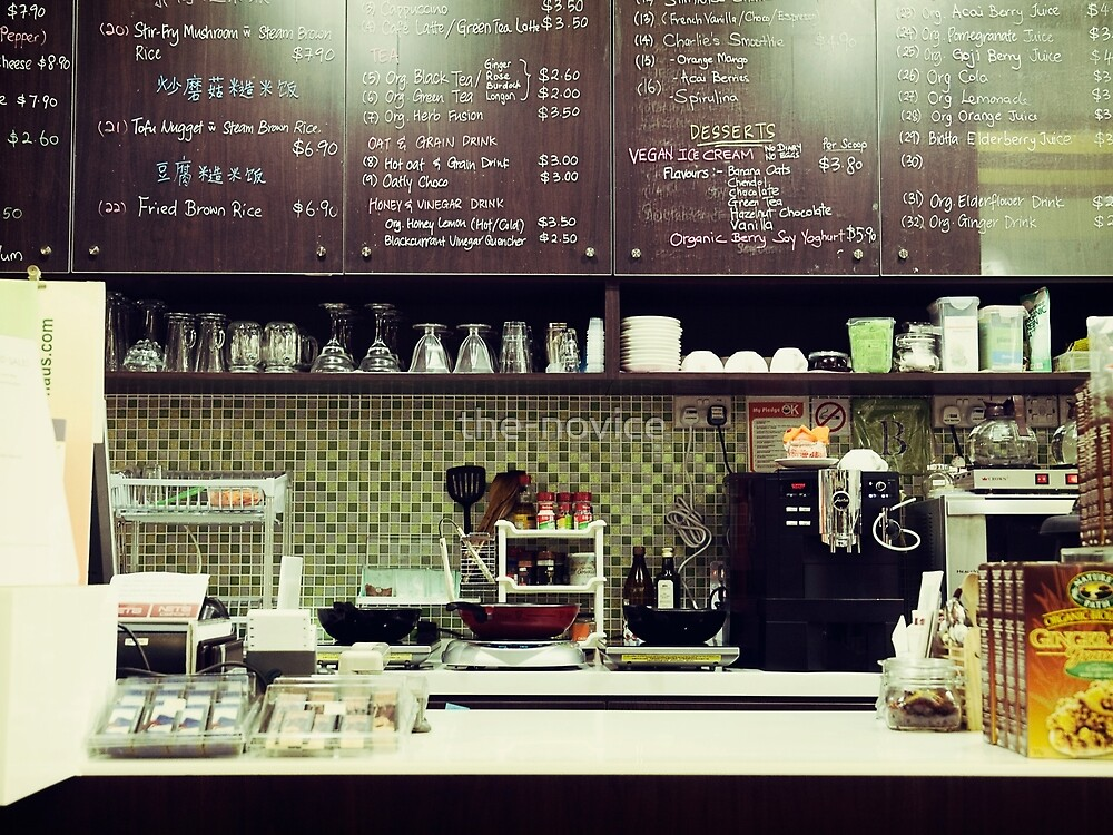 The Organic Café by the-novice