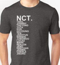 Camiseta ajustada NCT KPOP