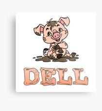 Dell Piggy Metal Print