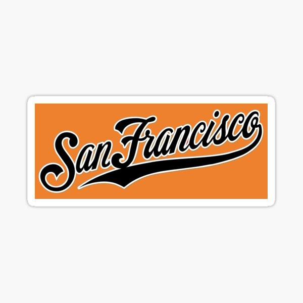 Old School SF Giants Sticker
