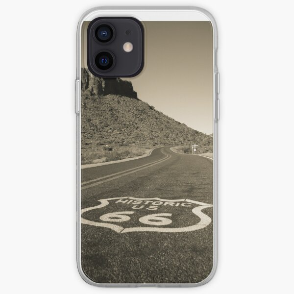 Route 66 Road  iPhone Soft Case