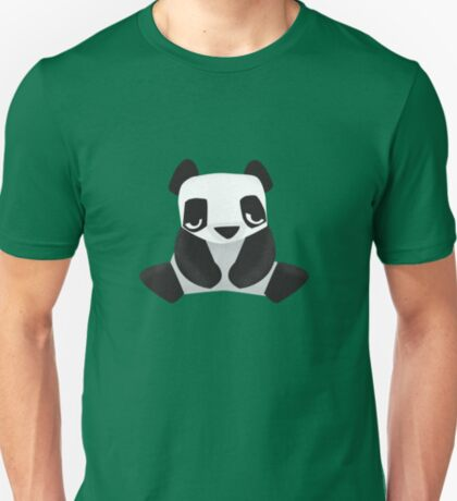 Sleepy Panda - Cute Animal Illustration T-Shirt