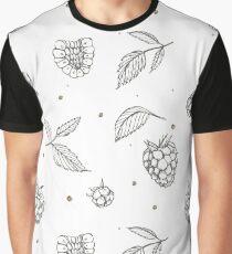 Hand drawn raspberry Graphic T-Shirt