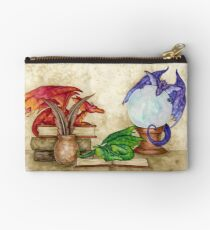 Dragons In The Library Studio Pouch