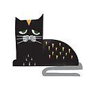 Sleepy Cat - Cute Animal Illustration by SpikyHarold
