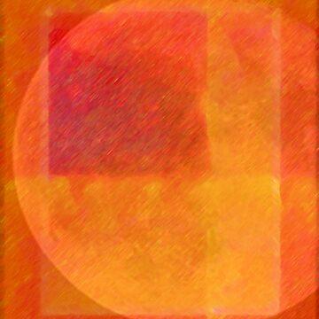 Orange Moon by BettyMackey