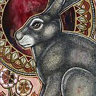 Sacred Hare by Lynnette Shelley