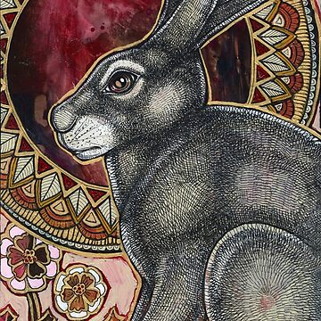 Sacred Hare by LynnetteShelley