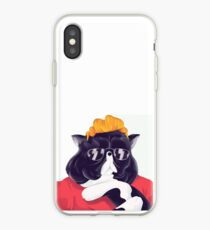 Squeezie Logo Chat iPhone Case