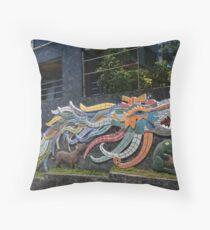 Diego Rivera's Quetzalcoatl Throw Pillow