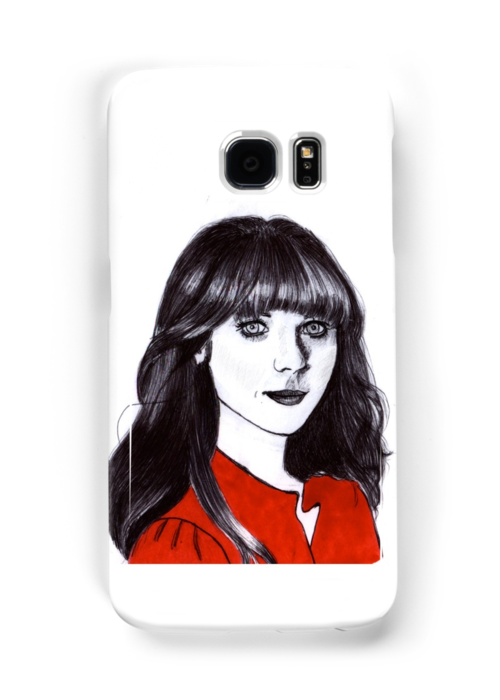 Zoey Deschanel by paperfish80