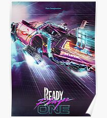 Ready Player One Car Poster