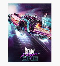 Ready Player One Car Photographic Print