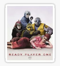 Ready Player One Virtual Group Sticker