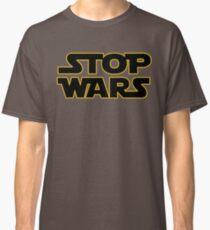 stop wars parody star wars peace Classic T-Shirt