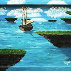 ISLAND HOPPIN' by WhiteDove Studio kj gordon
