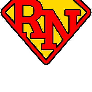 Super Nurse RN Symbol by SlightlyOffbeat