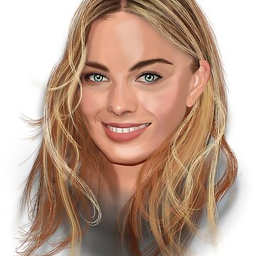 Procreate Painting of Margot Robbie by OldDawg