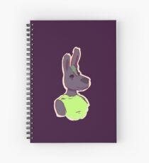 Slightly Smug Donkey Spiral Notebook