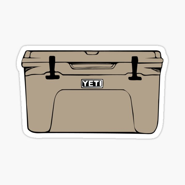 Cooler (Brown) Sticker