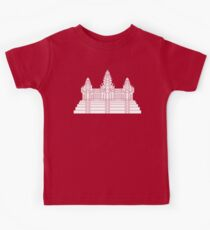 Angkor Wat Ver.2.0 Khmer Temple Kids Clothes