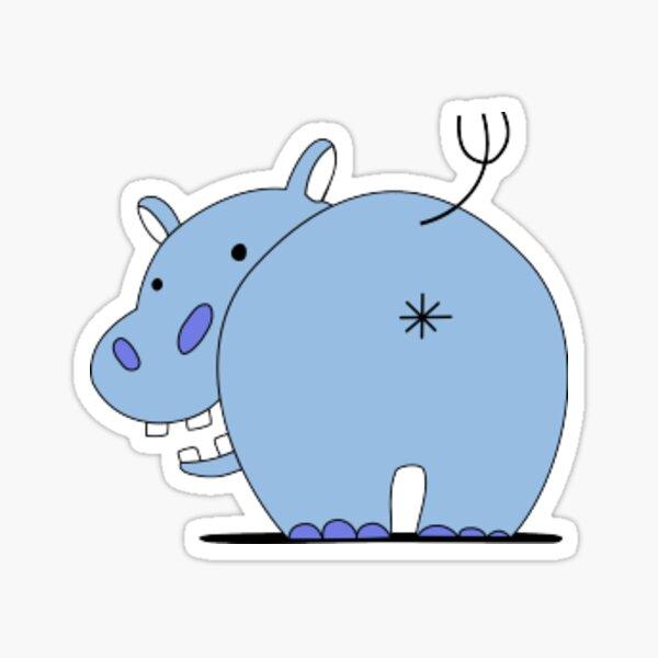 Girls und Panzer - Team Hippo Sticker