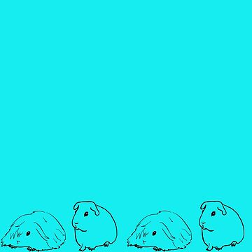 Guinea Pigs On Parade by Melindatodd