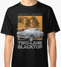 Two-Lane Blacktop Shirt - Retro Car Buff Movie Tribute Artwork Classic T-Shirt
