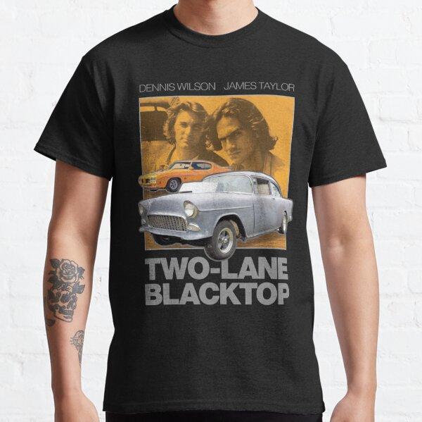Two-Lane Blacktop Shirt - Retro Car Buff Movie Tribute Artwork Classic T-Shirt