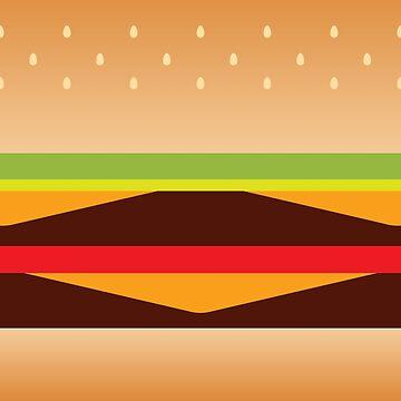 Burger Block by Mirumitsu
