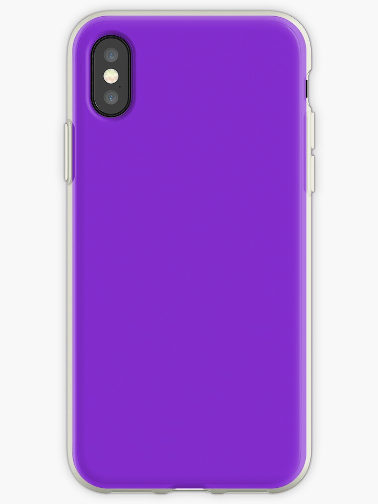 the latest 975a3 bc27d 'Cheap Solid Dark Purple Violet Color' iPhone Case by Discounted Solid  Colors