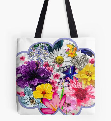 Flower Cloud Tote Bag