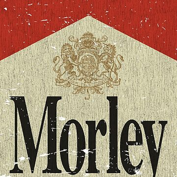 Morley Cigarettes Vintage Label  by jacobcdietz