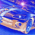 Blue-Neon-Nights-Car-Justin Beck-picture-2015106 by Justin Beck