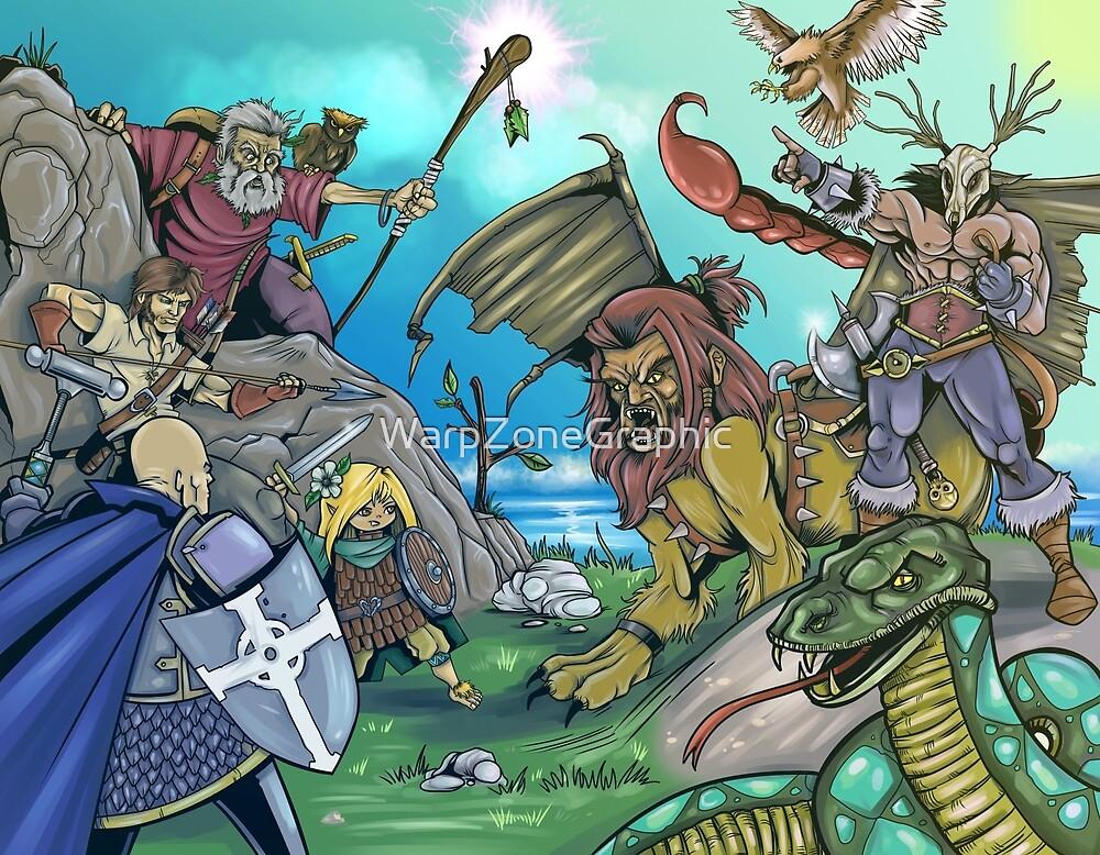 Fantasy Art 3 by WarpZoneGraphic