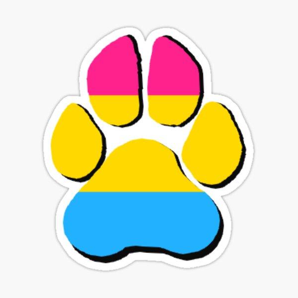 Pan paw Sticker
